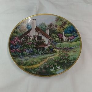 "A Cozy Glen"" by Violet Schwedig plate"